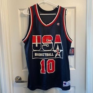 Clyde Drexler USA Basketball Jersey